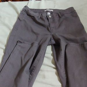 Refuge gray skinny jeans perfect condition sz 8